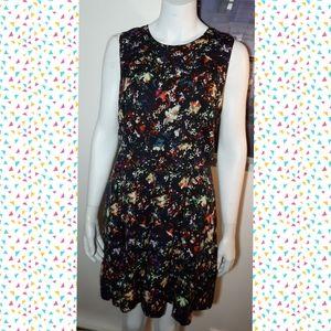 Gap Colorful dress  - Aline wide skirt